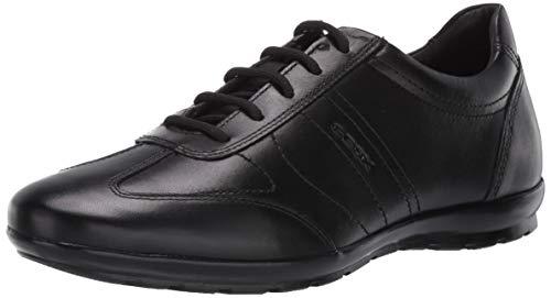 Geox Herren UOMO SYMBOL B, Black, 43 EU