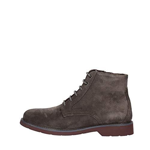 Geox Herren U GARRET B Klassische Stiefel, Braun (Mud/Bordeaux C6446), 39 EU