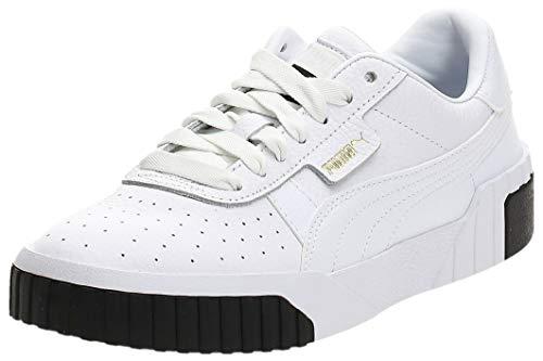PUMA Damen Cali WN's Fußballschuhe, Weiß White Black 04, 38 EU