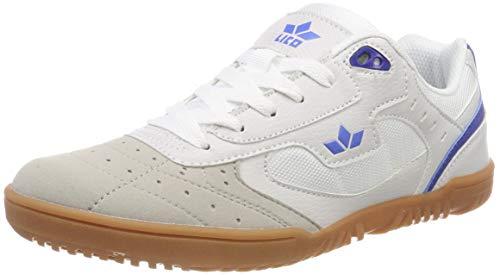 Lico Unisex Erwachsene Basic Multisport Indoor Schuhe, Weiß Blau, 41 EU