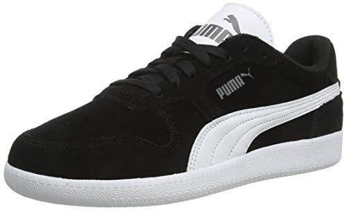 PUMA Unisex-Erwachsene Icra Trainer SD Sneaker, Schwarz (black-white), 42 EU