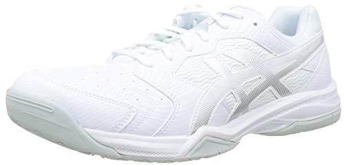 ASICS Herren Gel-Dedicate 6 Tennisschuhe, Weiß (White/Silver 101), 42 EU