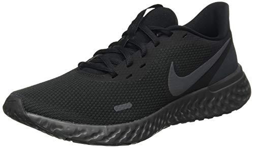 Nike Herren Revolution 5 Leichtathletikschuhe, Mehrfarbig (Black/Anthracite 001), 45 EU