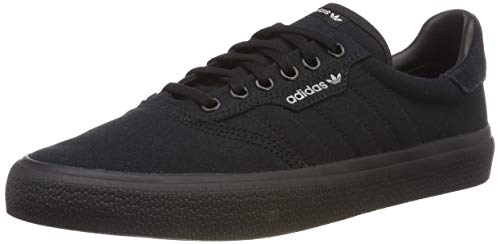 adidas Unisex-Erwachsene 3MC Vulc B22713 Skateboardschuhe, Schwarz (Negbás/Negbás/Gridos 000), 44 EU