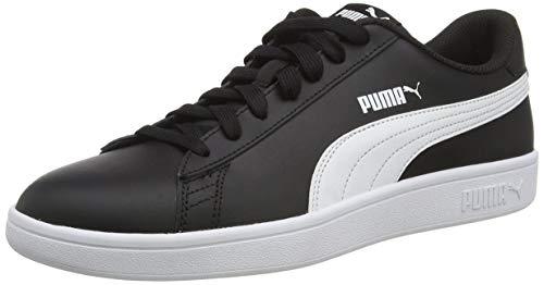 PUMA Herren Smash v2 L Sneaker, Schwarz Black White 04, 41 EU