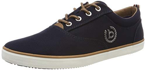 bugatti Herren 321502046900 Sneaker, Blau, 43 EU