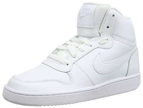 Nike Damen Ebernon Mid Fitnessschuhe, Weiß White 100, 40.5 EU