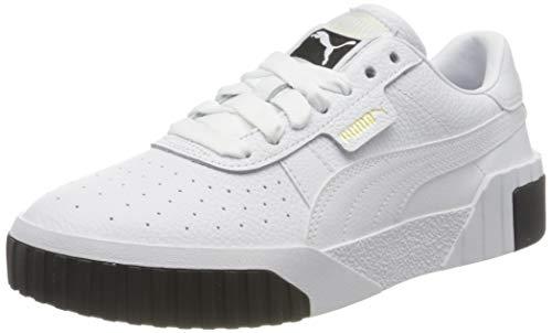 Puma Damen Cali WN's Sneaker, Weiß White Black 04, 38 EU