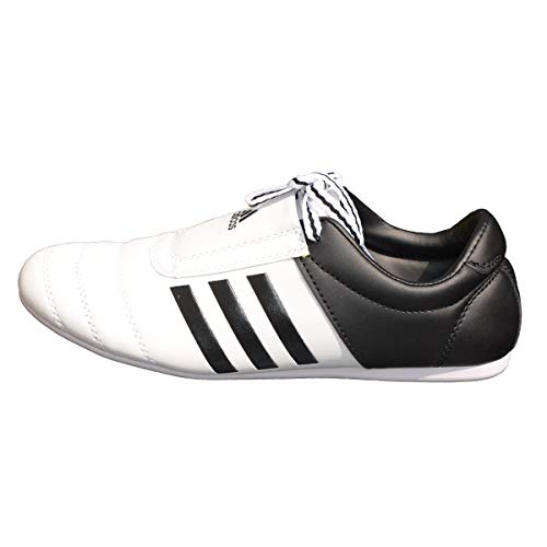 adidas Martial Arts Training Shoes Trainers Adi – Kick I Kampfsport Taekwondo Karate Trainingsschuhe Turnschuhe, weiß, 12 UK