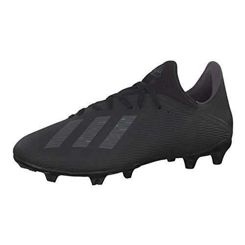 adidas Herren X 19.3 Fg Fußballschuhe, Schwarz (Core Black/Utility Black/Silver Met. Core Black/Utility Black/Silver Met.), 44 EU