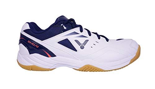 VICTOR Unisex SH-A170 Badminton-Schuh, Weiß/Blau, 45 EU