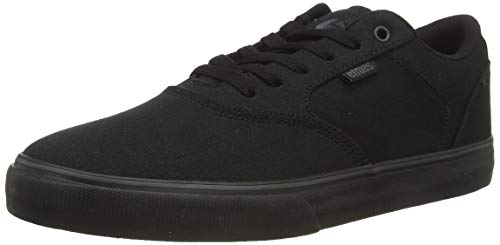 Etnies Herren Blitz Skateboardschuhe, Schwarz (Black/Black/Black-Red 004), 45 EU