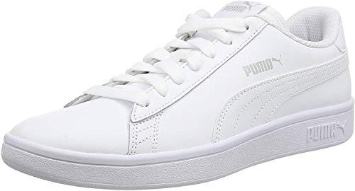 Puma Unisex-Erwachsene Smash v2 L Sneaker, White White White, 43 EU