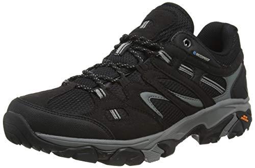 Hi-Tec Herren RAVUS Vent LITE Low Waterproof Walking-Schuh, Schwarz Cool Grey, 47 EU