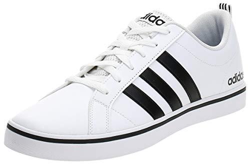 adidas Herren VS Pace Sneaker, Mehrfarbig (Ftwbla/Negbás/Azul 000), 43 1/3 EU
