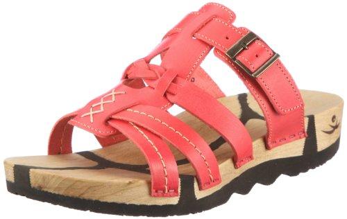 Chung Shi Wooccoli Katja 3000330, Damen Sandalen, Rot (rosso), EU 35