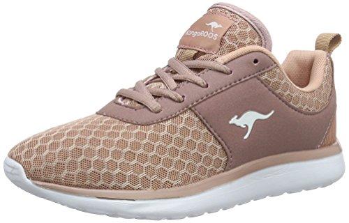 KangaROOS Bumpy Sneaker Damen, Pink(Rose 640), 38 EU