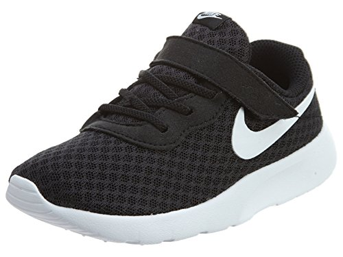 Nike Unisex-Kinder Tanjun (TDV) Sneaker, Schwarz (Black White 011), 26 EU