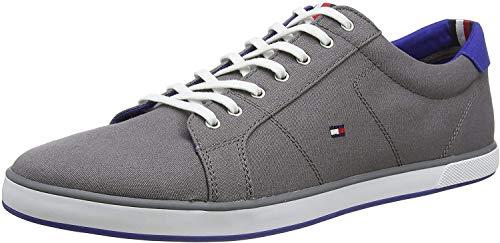 Tommy Hilfiger Herren H2285ARLOW 1D Sneakers, Grau (Steel Grey 039), 44 EU