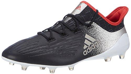 Adidas Damen X 17.1 FG für Fußballtrainingsschuhe, Schwarz (Negbas/Metpla/Rojbas), 39 1/3 EU