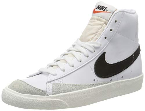 Nike Herren Blazer Mid '77 VNTG Basketballschuhe, Weiß (White/Black 000), 45 EU