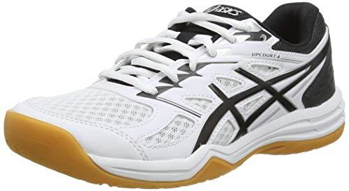 ASICS Womens 1072A055-100_40 Volleyball Shoes, White, EU