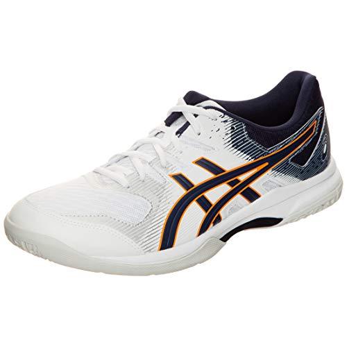 ASICS Mens 1071A030-102_44 Volleyball Shoes, White, EU