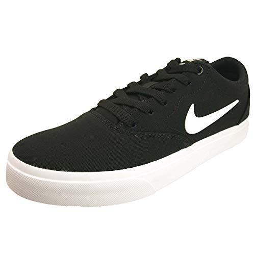 Nike Herren Sb Charge Solarsoft Skateboardschuhe, Schwarz (Black/White 002), 45.5 EU