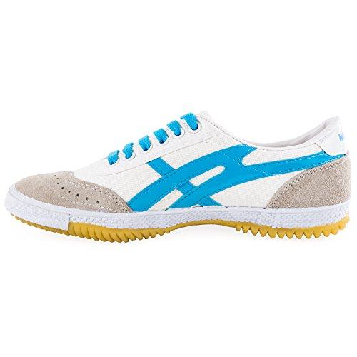 wu designs Warrior Sneaker - Kampfkunst Sport Parkour Wushu Schuhe Blau 42