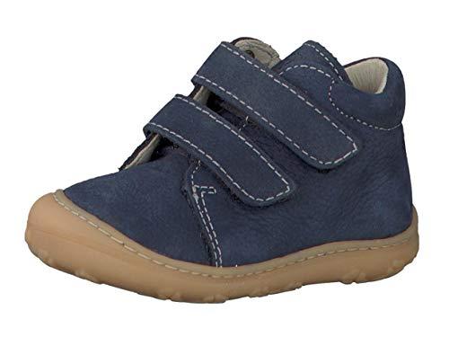RICOSTA Pepino Unisex - Kinder Stiefel Chrisy, WMS: Mittel, Kinder-Schuhe Klett-Schuhe toben Spielen Freizeit leger Boots Leder,See,21 EU / 5 UK