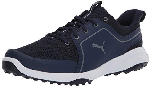 PUMA Herren Grip Fusion Sport 2.0 Golfschuh, Blau (Peacoat-Quiet Shade), 42 EU