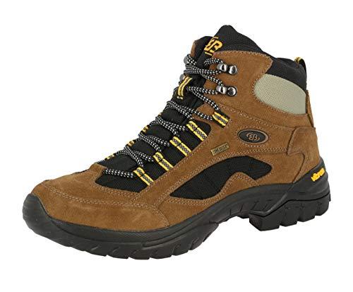 Bruetting Chimney Rock, Trekking & Wanderhalbschuhe Unisex-Erwachsene, Braun (BRAUN/SCHWARZ/GELB), 40 EU