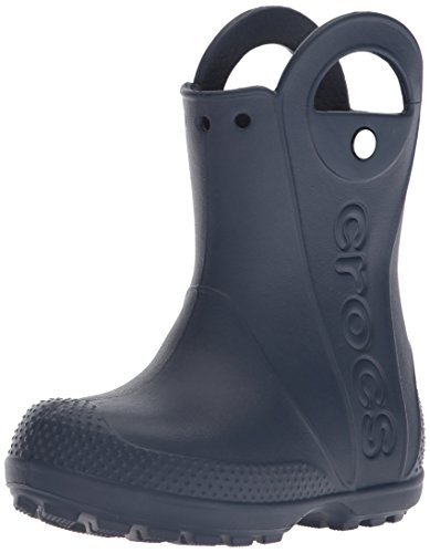 Crocs Unisex-Kinder Handle It Rain Boot Gummistiefel, Blau (Navy), 25/26 EU