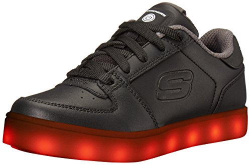 Skechers Jungen Energy Lights Elate Sneaker, Schwarz (Black), 33 EU