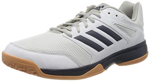 adidas Herren Performance Speedcourt EF2623 Volleyball-Schuh, Ftwwht/Conavy/Gum2, 48 EU