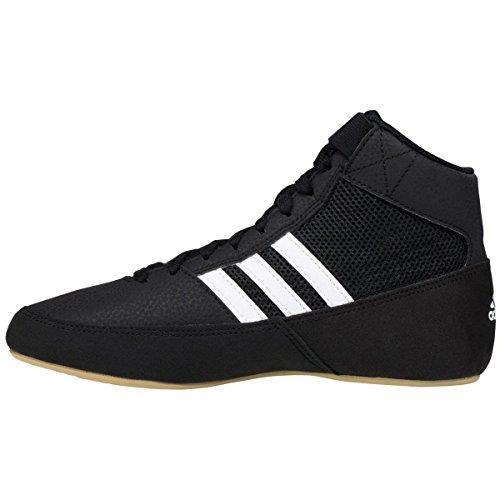 adidas HVC 2 schwarz/weiß Wrestling Schuhe 11,5