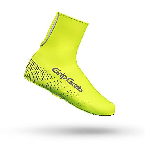 GripGrab Ride wasserdichte Winddichte Fahrrad Überschuhe   Unisex Radsport Überzieher/Gamaschen für Regen Wetter, Gelb Hi-Vis, XL (44-45)