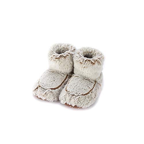 Warmies Slipper Stiefel beige Marshmallow
