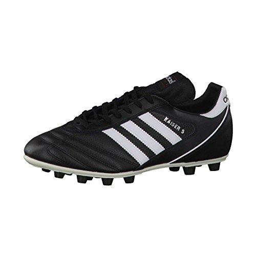 adidas Herren Kaiser 5 Liga Fußballschuhe, Schwarz (Black/Footwear White/Red Schwarz), 44 2/3 EU
