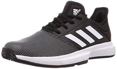 adidas Damen Gamecourt W Tennisschuh, Kern Schwarz/FTWR Weiss/Grau Sechs, 37 1/3 EU