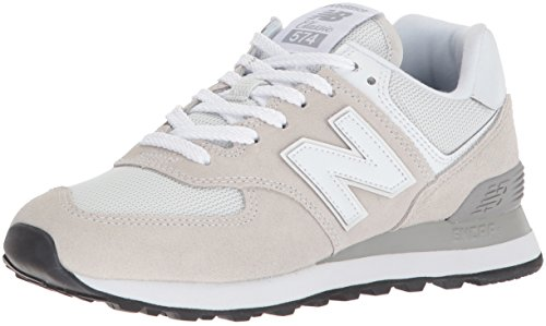 New Balance Damen 574v2 Core Low-Top, Weiß (White), 39 EU