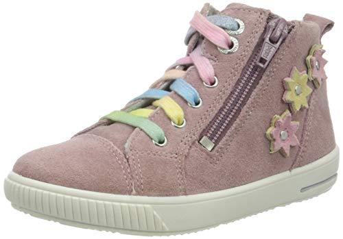 Superfit Baby Mädchen Moppy Lauflernschuhe Sneaker, Violett (Lila 90), 26 EU