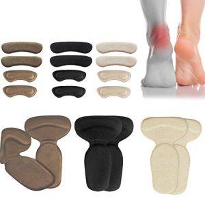 Schuhpolsterung, Fersenpolster,  Gelpolster für Schuhe