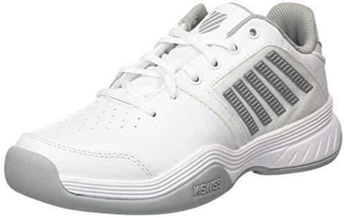 K-Swiss Performance Damen KS TFW Court Express Carpet-White/HIGH-Rise/Silver Tennisschuh, 38 EU
