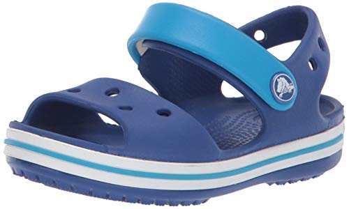 Crocs Crocband Sandal Kids, Unisex - Kinder Sandalen, Blau (Cerulean Blue/ocean), 24/25 EU