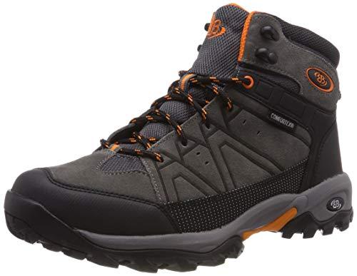 Bruetting Herren Mount Cornwell Trekking-& Wanderstiefel, Grau (Anthrazit/Schwarz/Orange), 47 EU