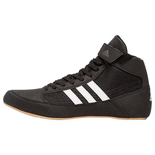 adidas Unisex-Erwachsene Havoc AQ3325 Wrestlingschuhe, Schwarz (Black), 44 EU