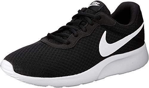 Nike Herren Tanjun Laufschuhe, Schwarz (011 Black/White), 46 EU