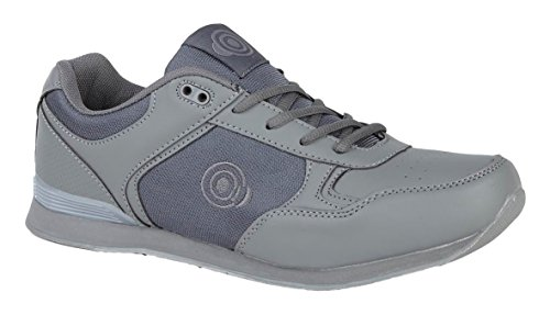 Dek Unisex Adults Jack Bowls Lace Trainer Grey 10 UK / 44 EU