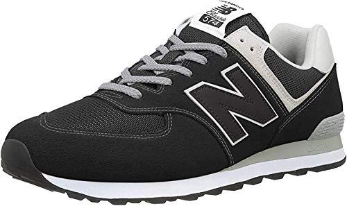 New Balance Herren 574v2-Core Sneaker, Schwarz (Black), 42.5 EU